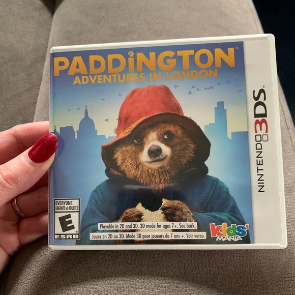 New,Paddington Adventures in London Nintendo 3DS